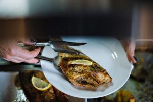 Теплі води Смачна кухня риба
