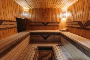Теплі води Фінська сауна фото-02