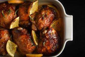 Теплі води Смачна кухня курка в апельсиновому соусі