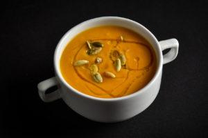 Теплі води Смачна кухня крем-суп із гарбуза